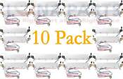 10 Pack Wr51x443 For Ge Hotpoint Refrigerator Defrost Heater Ap2071465 Ps303934