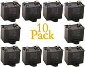 10 Pack Refrigerator Capacitor For Whirlpool Ap6023677 Ps11757023 W10662129