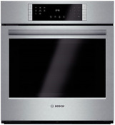 Bosch Hbn8451uc 800 Series 27 Single Electric Wall Oven 4 1 Cu Ft Stainless