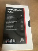 Ge Advantium Wall Oven Vhs Instructional Getting Started Video Tape