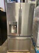 Ge Pye22pskss 36 Profile Series 22 Cuft Counter Depth Refrig With Keurig Ss