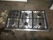 Bosch 36 Stainless Steel 5 Burner Gas Cooktop Stove Perfect Working Order