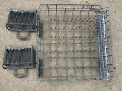 Maytag Dishwasher Lower Rack From Model Mdbh989aws1 With Two Utensil Holders