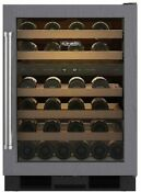 Sub Zero 24 Panel Ready 46 Bottle Under Counter Wine Cooler Uw 24 O Rh