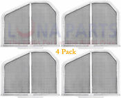 4 Pack Dryer Lint Screen For Whirlpool Sears Ap3967919 Ps1491676 W10120998