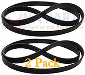 2 Pack Washing Machine Drive Belt For Ge Ap3968432 Ps1482278 Wh01x10302