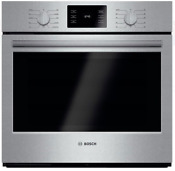 Bosch Hbl5451uc 500 Series 30 Single Electric Wall Oven Stainless Steel