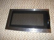 Samsung Microwave De94 01816a Stainless Steel Door Assembly Oem With Handle