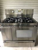 Frigidaire Professional 40 Electric Gas Range Convection Double Oven Shipping