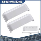2pcs W10861225 Dryer Door Handle For Whirlpool Amana Kenmore Roper Inglis