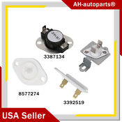 Dryer Thermal Fuse Thermostat Wp8577274 Ap6008325 Fits For Whirlpool Kenmore Us