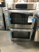 Hbl8651uc Bosch 30 Double Oven W Convection Stainless Out Of Box Dent In Back