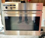 Buy Now 27 Stainless Miele Single Wall Oven Model H267b Good Condition Used