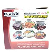 Nuwave 30153 Precision 14 5 Induction Cooktop Black With 9 Inch Fry Pan
