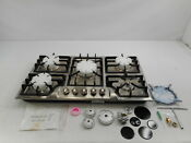 Hotfield Hf825 Sa03a 34 Gas Cooktop 5 Burner Stainless Steel Gas Cooktop