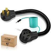 Dryer Adapter Cord 4 Prong To 3 Prong Dryer Plug Nema External Green Ground Wire
