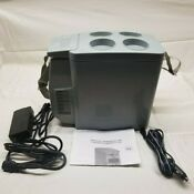 Ac Dc Portable Mini Fridge Electric Cooler And Warmer 9 Can