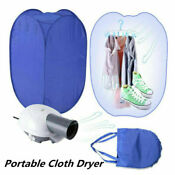 800w Clothes Drying Bag Portable Folding Electric Dryer Machine Household Travel