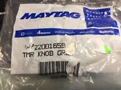 Wp22001659 22001659 Oem Maytag Timer Knob New New In Unopened Maytag Blister