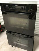 Thermador 30 Inches Double Electric Convection Wall Oven Sec302b Black