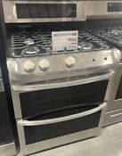 Lg Gas Double Oven Range With Probake Convection And Easyclean