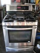 Lg Stainless Gas Stove Lrg3095st