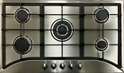 Big Sell 35 5 Burners Built In Stainless Steel Cooktop Gas Stove Ng Lpg