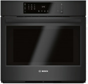 Bosch Hbl8463uc 800 Series 30 Inch Single Electric Wall Oven In Black