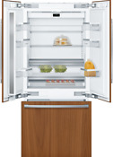 Bosch Benchmark Series B36it905np 36 Inch Built In French Door Smart Panel Ready