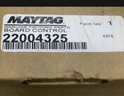 22004325 Whirlpool Maytag Washer Main Control New In Box