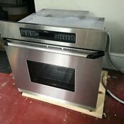 Dacor 30 Single Wall Convection Oven Stainless Steel In Excellent Condition