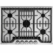 Frigidaire Professional 30 In 5 Burners Stainless Steel Gas Cooktop Fpgc3077rs