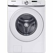 Samsung Wf45t6000aw 4 5 Cu Ft White Front Load Washer