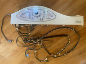 Maytag Neptune Mah 5500 Washer Console Control Panel W Circuit Board Harnesses