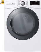 Lg Dlgx3901w 7 4 Cu Ft Smart Front Load 14 Cycle Gas Dryer With Steam White