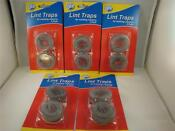 10 Lot Washing Machine Lint Traps Snare Filter Screens Aluminum Mesh W Clamps