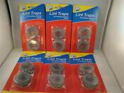 12 Lot Washing Machine Lint Traps Snare Filter Screens Aluminum Mesh W Clamps