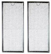Ge Part Wb06x10596 Grease Filter For For Many Ge Microwaves 2 Pack 13 3x5 9