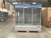 Nsf Refrigerator Three Glass Door Freezer Beer Cooler