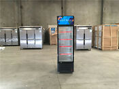 One Glass Refrigerator Glass Door Freezer Beer Cooler 75 Ins