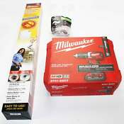 Milwaukee Dryer Vent Kit Includes Rotary Cleaning Kit 5 Foot Indoor Flex Vent