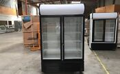 Beverage Refrigerator Flower Glass Door Beer Cooler