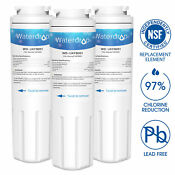 3x Waterdrop Ukf8001 Edr4rxd1 4396395 469006 Maytag Whirlpool Replacement Filter