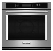 Kitchenaid Kose500ess 30 Single Wall Oven Even Heat True Convection Stainless