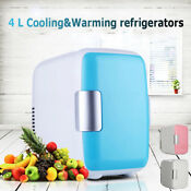 Portable Mini Refrigerator Fridge 4l Cooler Warmer Car Freezer Boat Home Office
