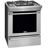 Electrolux Ew30ds80rs 30 Dual Fuel Built In Range With Wave Touch Controls