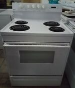 Kenmore Coil Top Electric Range Stove Excellent Working