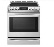 Lg Lse4617st Induction Slide In Range Convection 6 3 Cu Ft Stainless Steel