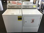 Speed Queen Washer Dryer Set 92 Series Discontinued Free Shipping