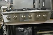Electrolux Icon Pro 36 Stainless Steel 6 Sealed Burner Gas Rangetop E36gc76gps